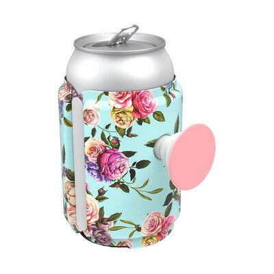 PopThirst Can Holder Retro Wild Rose