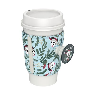 PopThirst Cup Sleeve Mickey Holiday