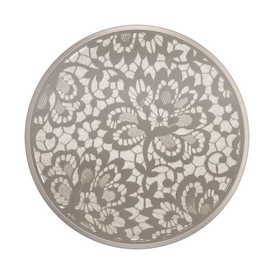Laser Cut Metal Floral Lace