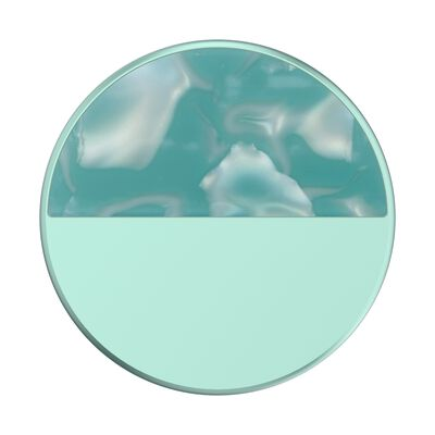 Glam Inlay Acetate Aquamarine
