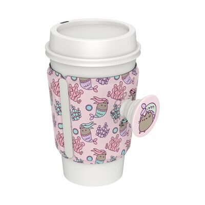 PopThirst Cup Sleeve Mermaid Pusheen
