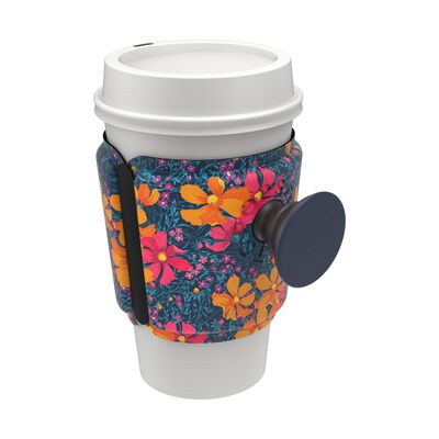 PopThirst Cup Sleeve Flower Power