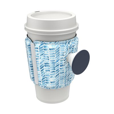 PopThirst Cup Sleeve Painted Mosaic