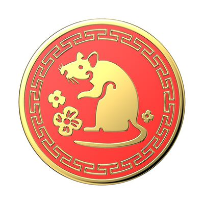 Year of the Rat Enamel