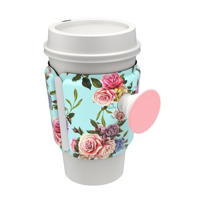 PopThirst Cup Sleeve Retro Wild Rose