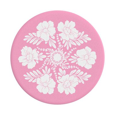 Not Your Grandmas Doily Pink