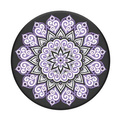 Peace Mandala Purple