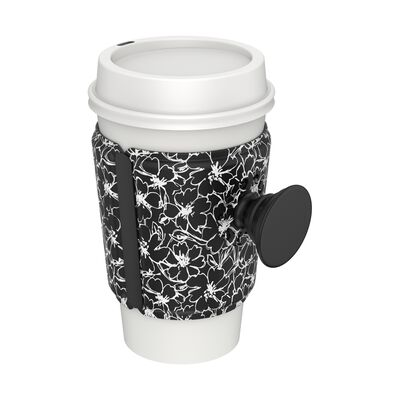 PopThirst Cup Sleeve Moon Flower
